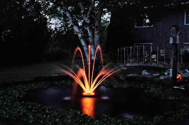 kasco marine water fountain 1400jfl with lights 1 4 hp ebay
